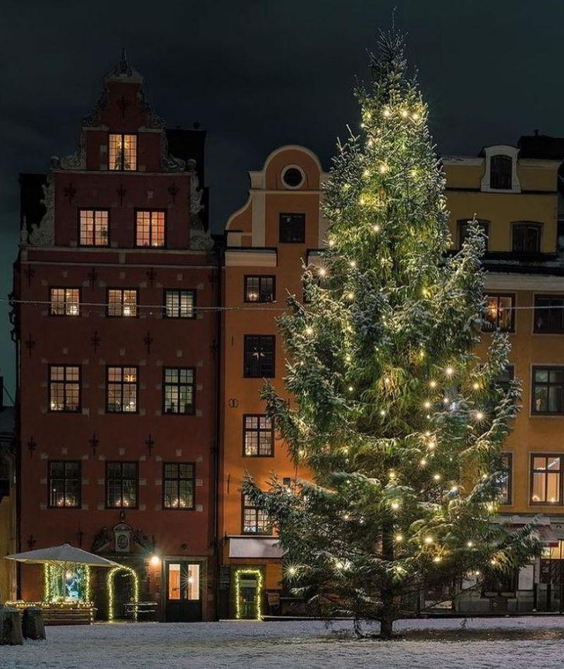 Новогодний Стокгольм в фотографиях