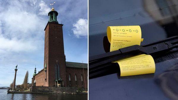 В Стокгольме увеличат штраф за неправильную парковку