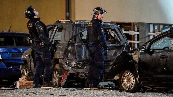 В Стокгольме взрывом разнесло подъезд