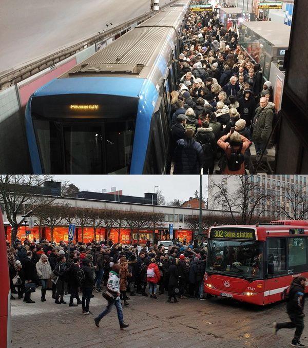 В Стокгольме отменили билетный контроль