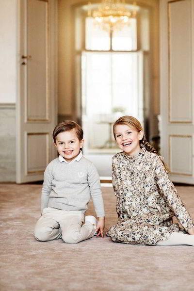 Швеция отмечает день рождения маленькой принцессы