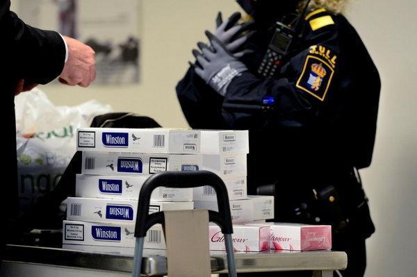 Нормы ввоза сигарет в Швецию